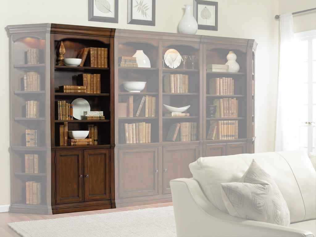 Hooker furniture home office cherry creek 32 wall storage for Kitchen cabinets johnson city tn