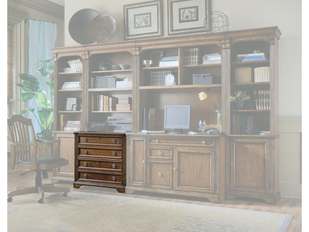 Hooker Furniture Home Office Brookhaven Lateral File 281