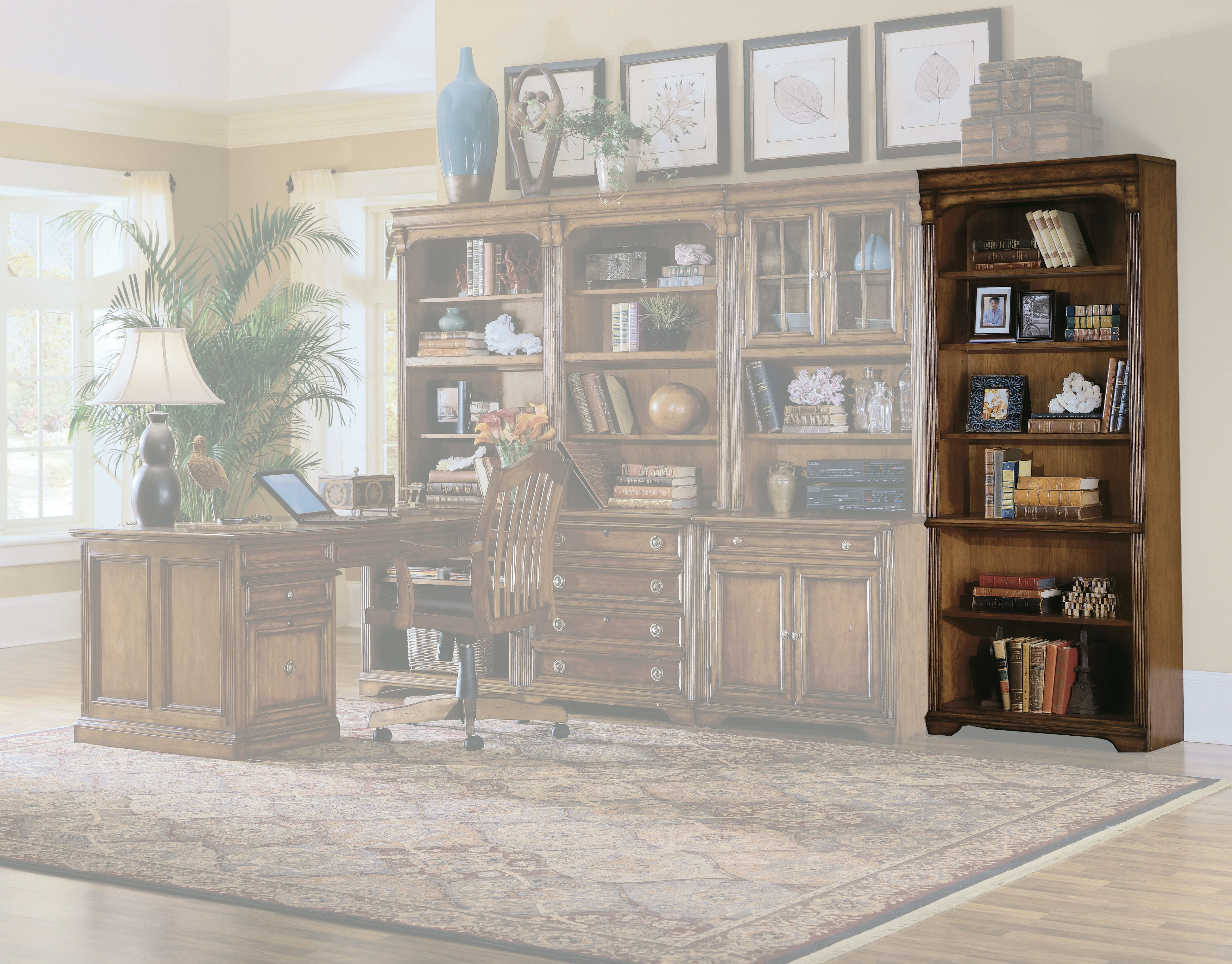Hooker Furniture Brookhaven Tall Bookcase 281 10 422