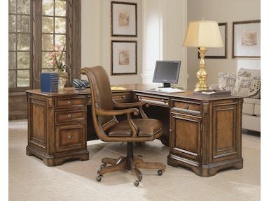 Hooker Furniture Brookhaven Executive L Right Return 281 10 453