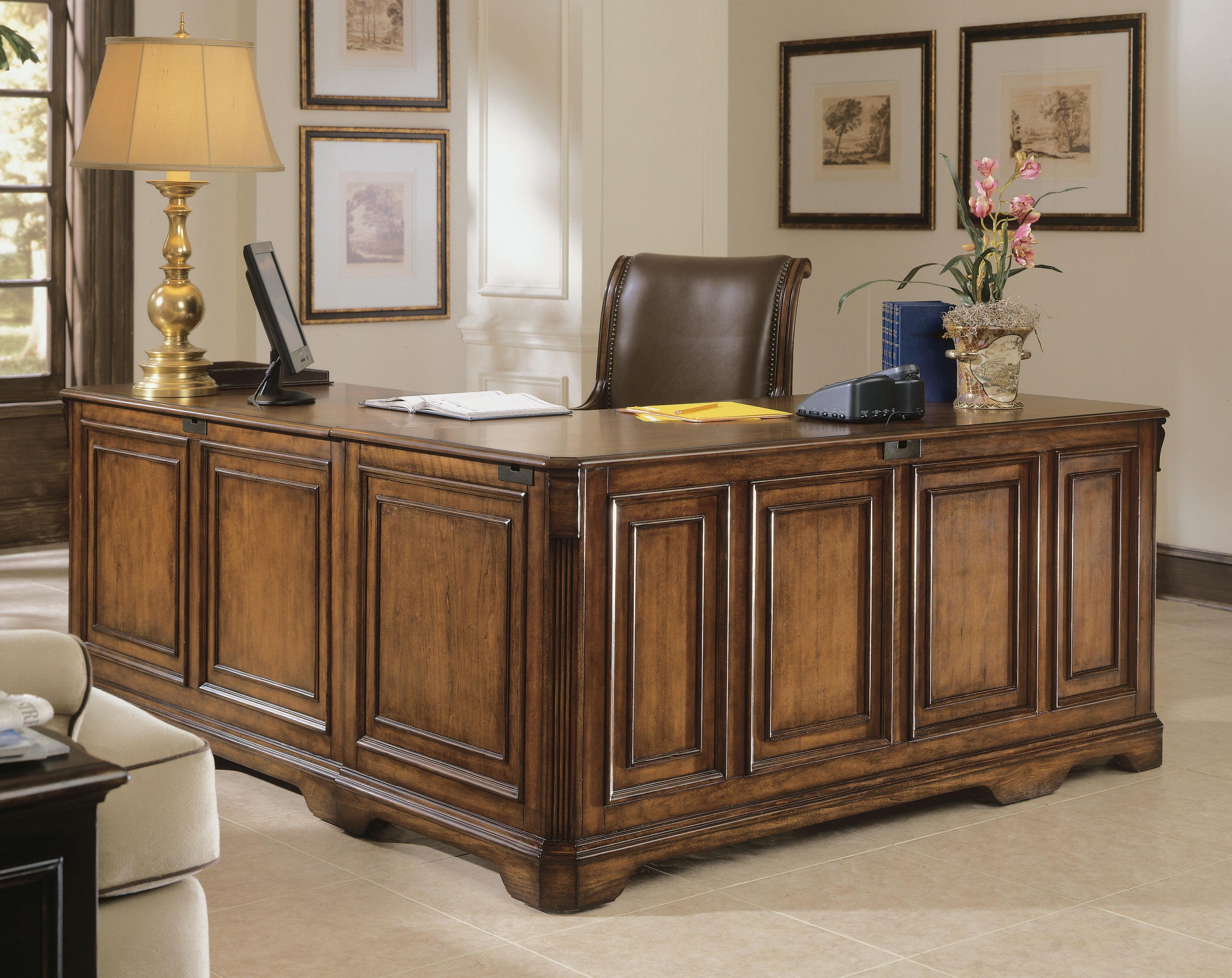 Charming Hooker Furniture Brookhaven Executive L Right Return 281 10 453