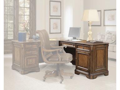 hooker furniture brookhaven right pedestal return 281 10 473