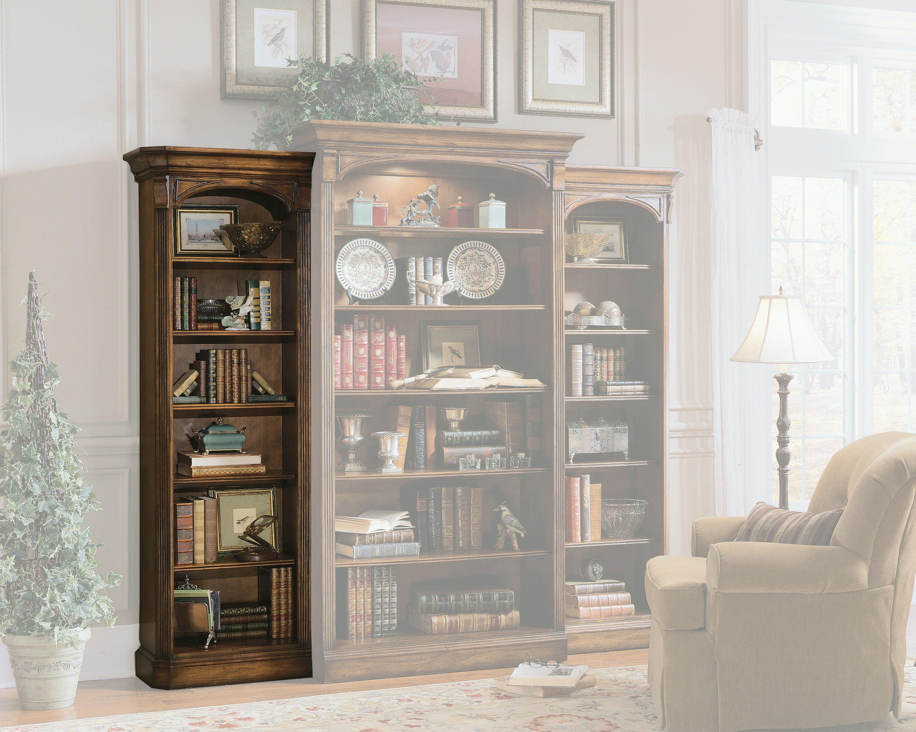 Hooker Furniture Home Office Brookhaven Left Bookcase Hs28110541 Walter E Smithe Furniture Design