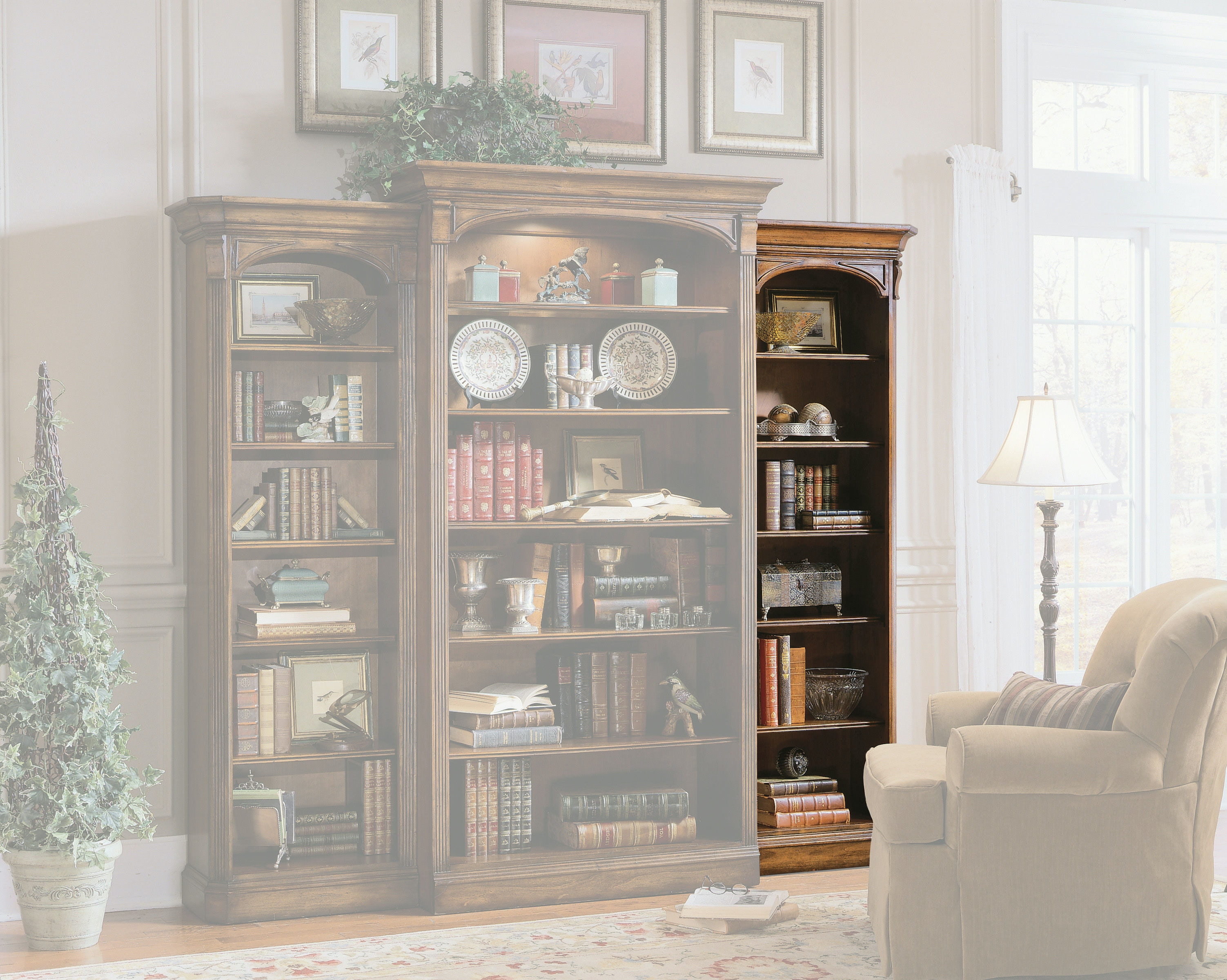 Hooker Furniture Home Office Right Bookcase 281 10 542 At American Factory  Direct