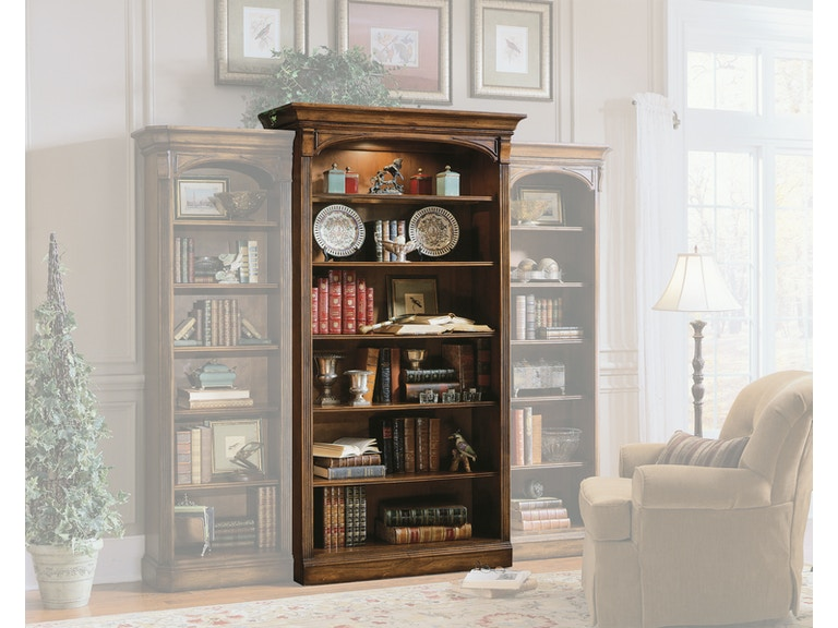 Home Office Furniture Michigan: Hooker Furniture Home Office Brookhaven Open Bookcase 281