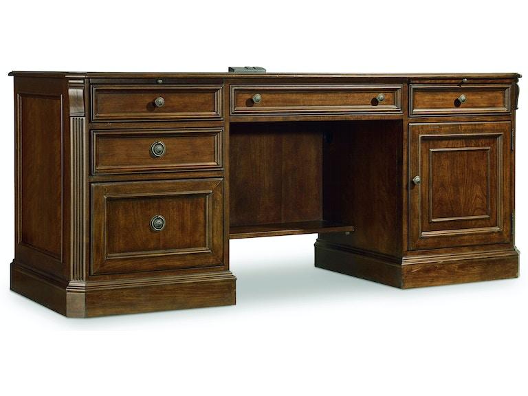 Hooker Furniture Home Office Brookhaven Computer Credenza 281-10-564