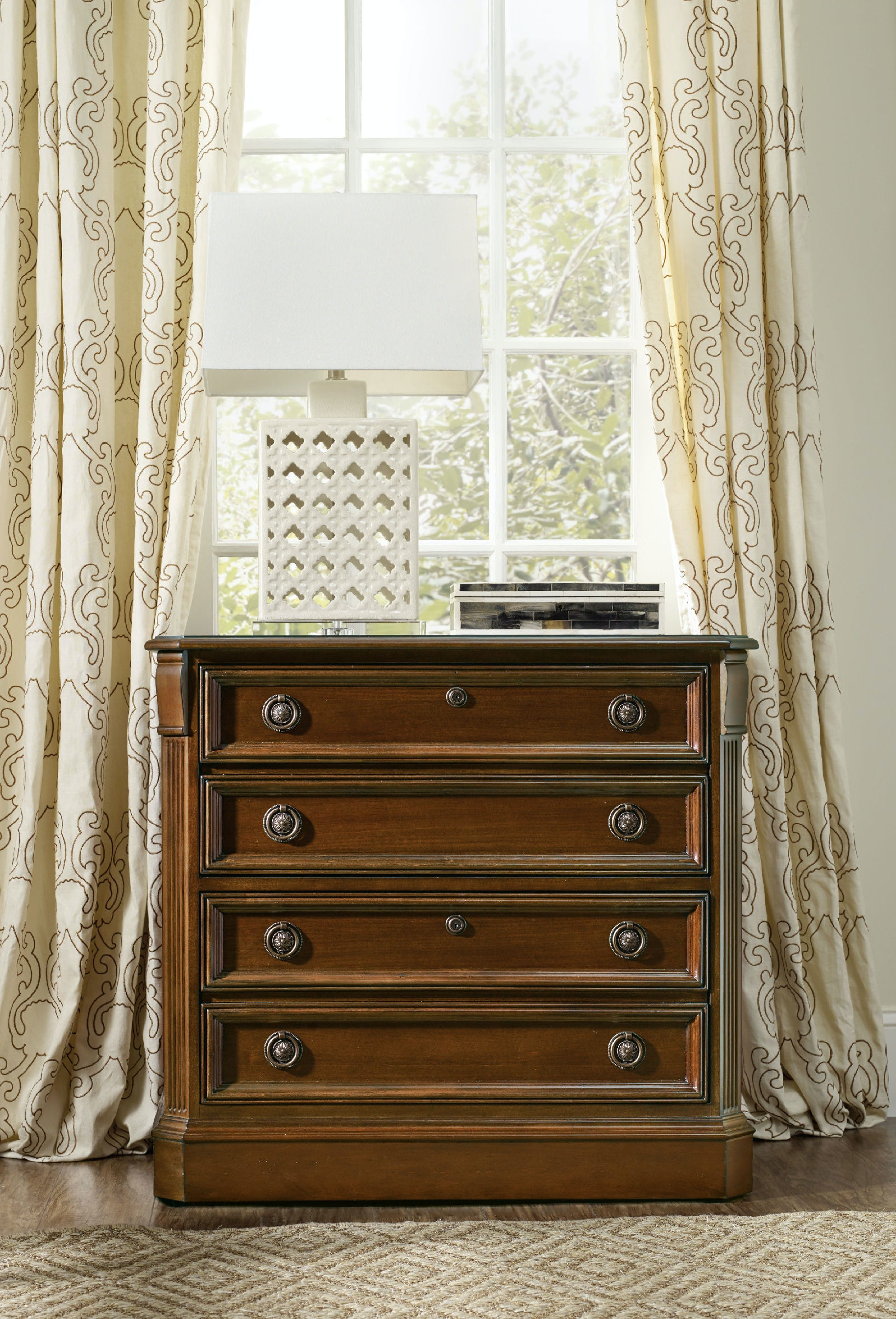 Hooker Furniture Brookhaven Lateral File 281 10 566