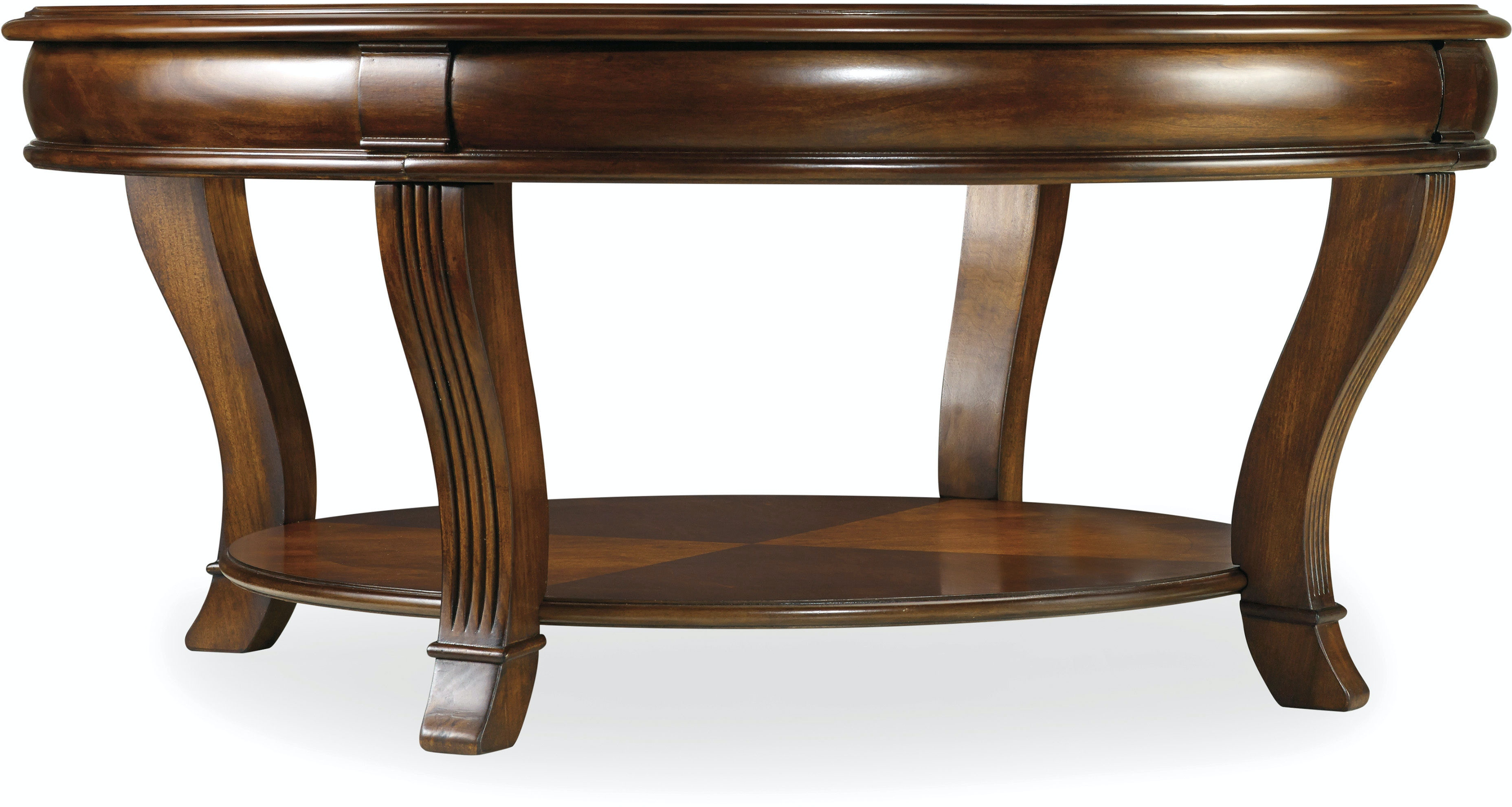 Hooker Furniture Living Room Brookhaven Round Cocktail Table 281