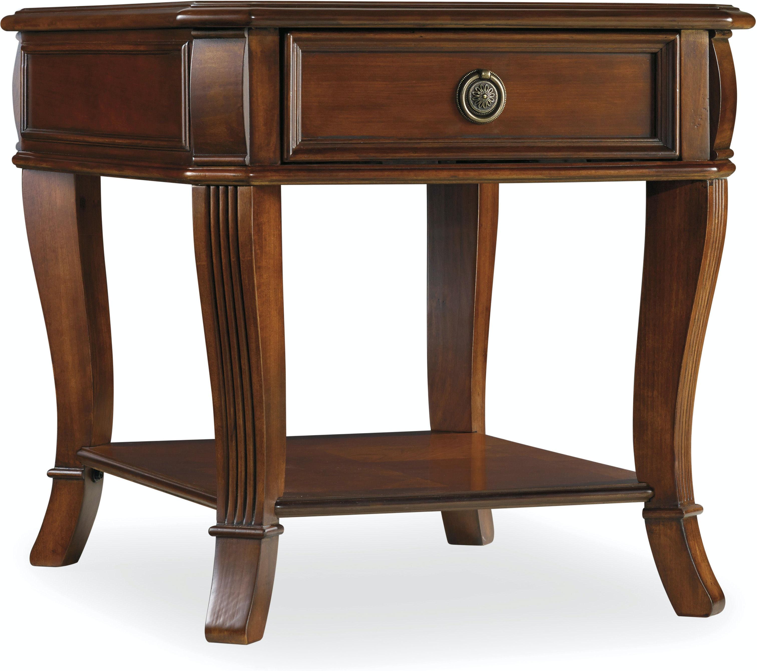 Hooker Furniture Living Room Brookhaven End Table 281 80