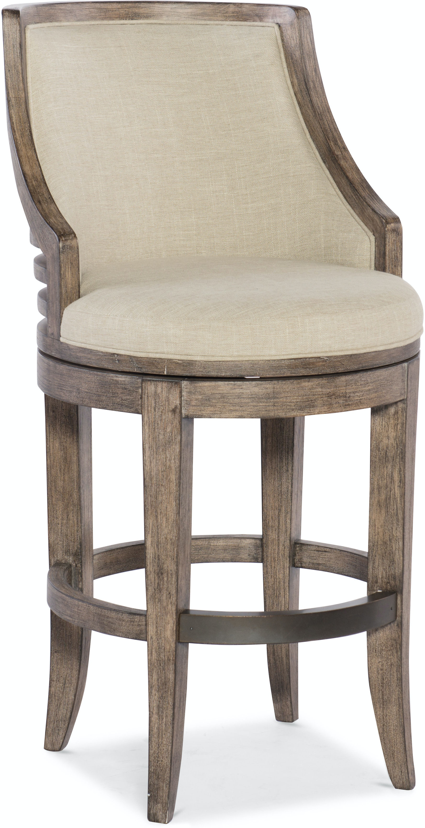 Sensational Hooker Furniture Dining Room Lainey Transitional Barstool Gmtry Best Dining Table And Chair Ideas Images Gmtryco
