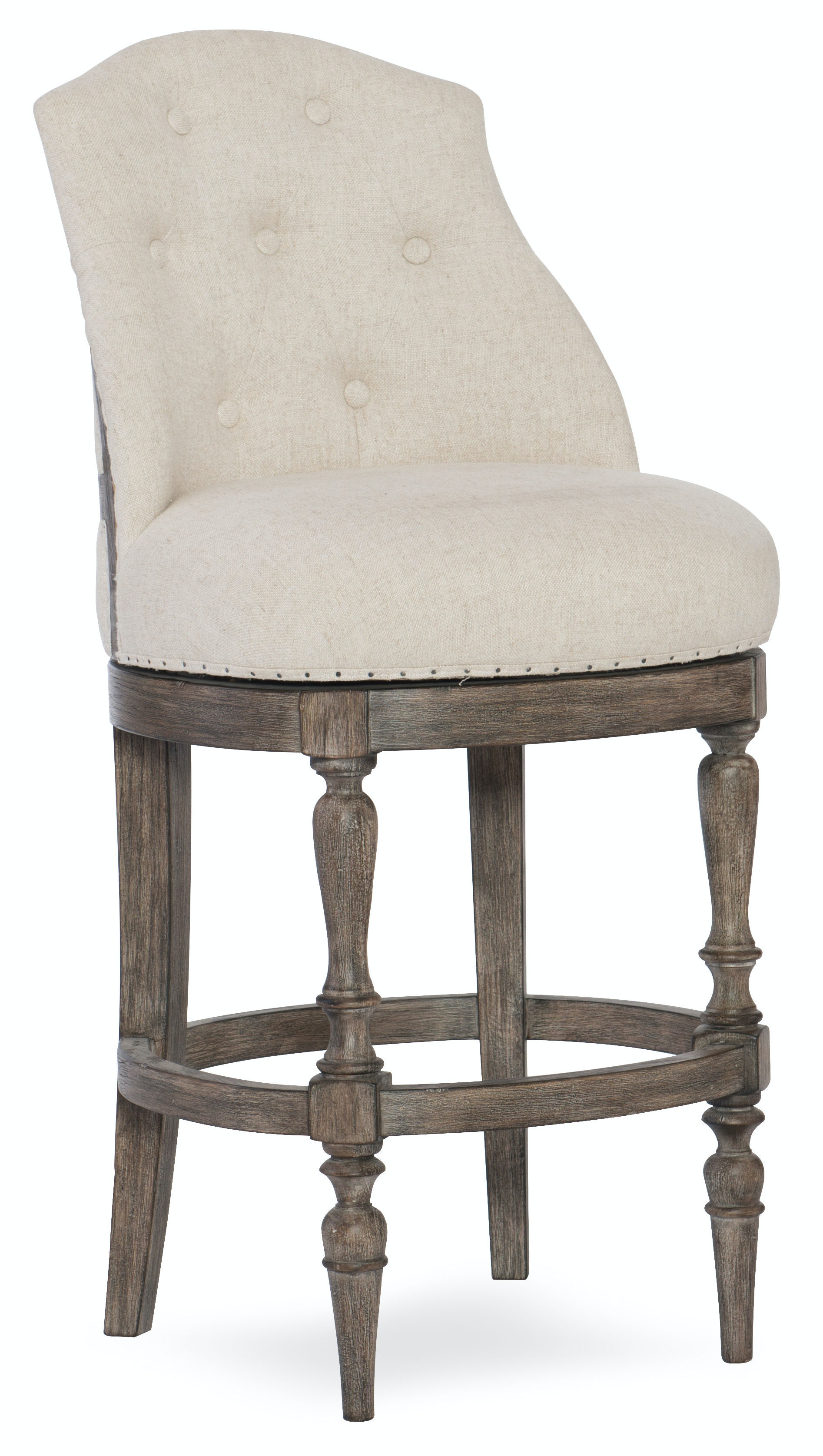 Hooker Furniture Kacey Deconstructed Counter Stool 300 25044