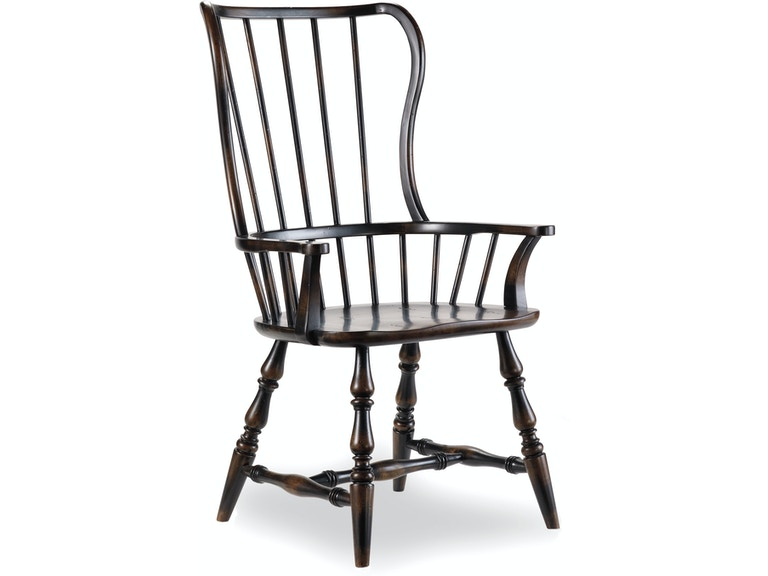 Hooker Furniture Dining Room Sanctuary Spindle Arm Chair