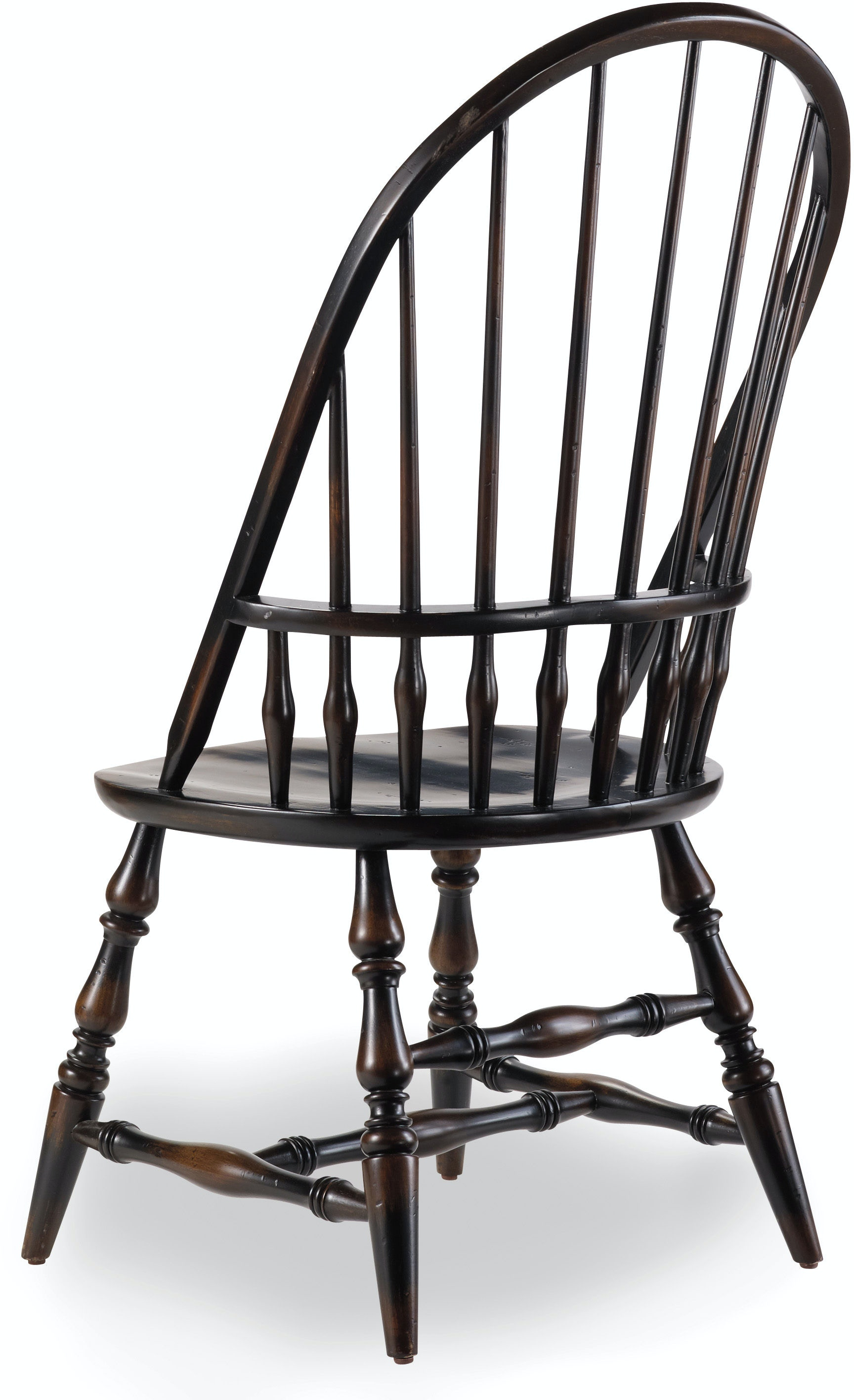 Hooker Furniture Dining Room Sanctuary Windsor Side Chair Ebony
