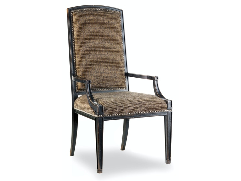 Hooker Furniture Sanctuary Mirage Arm Chair-Ebony 3005-75400