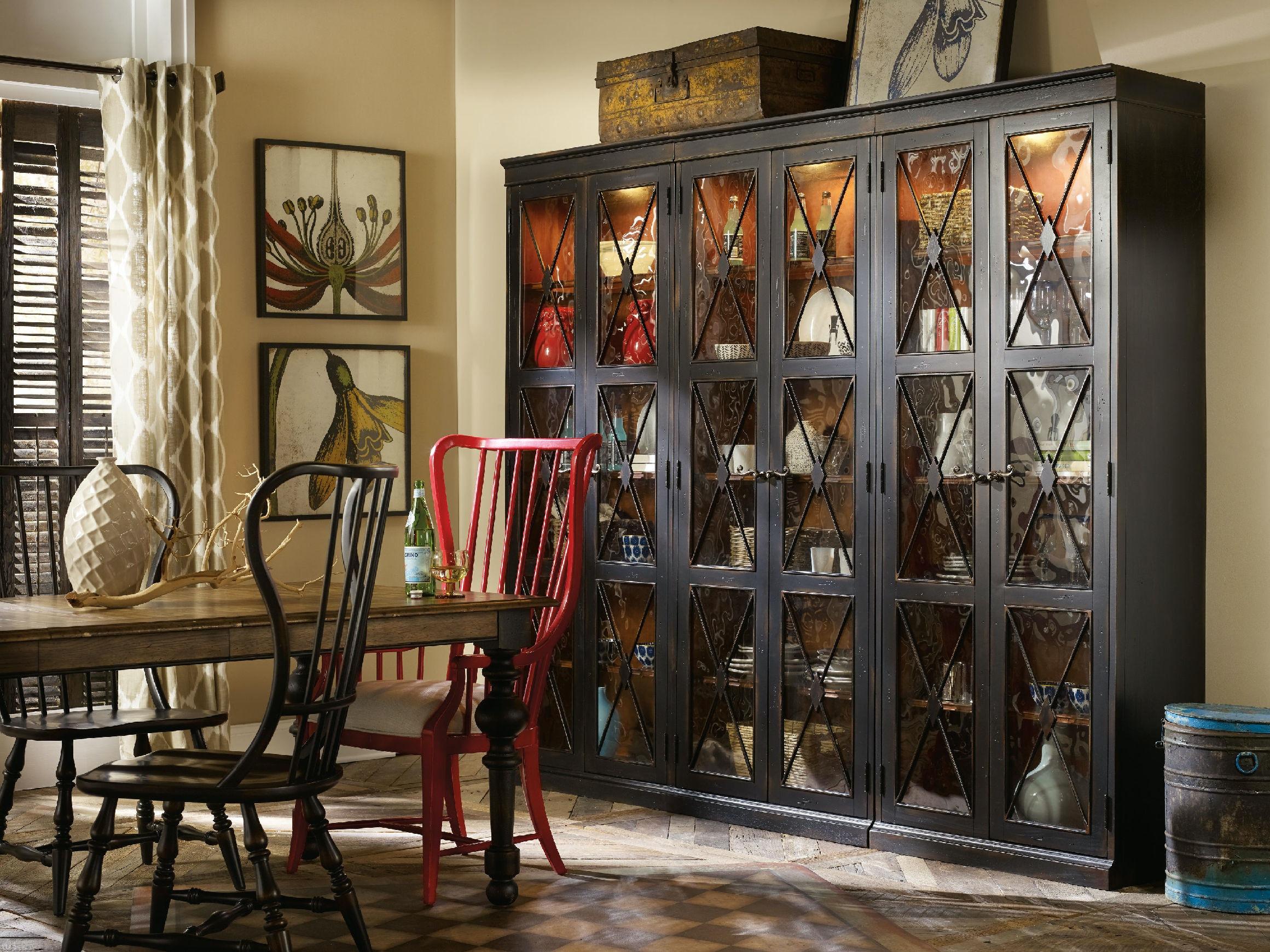 Living Room Cabinets With Doors Hooker Furniture Living Room Sanctuary Two Door Thin Display