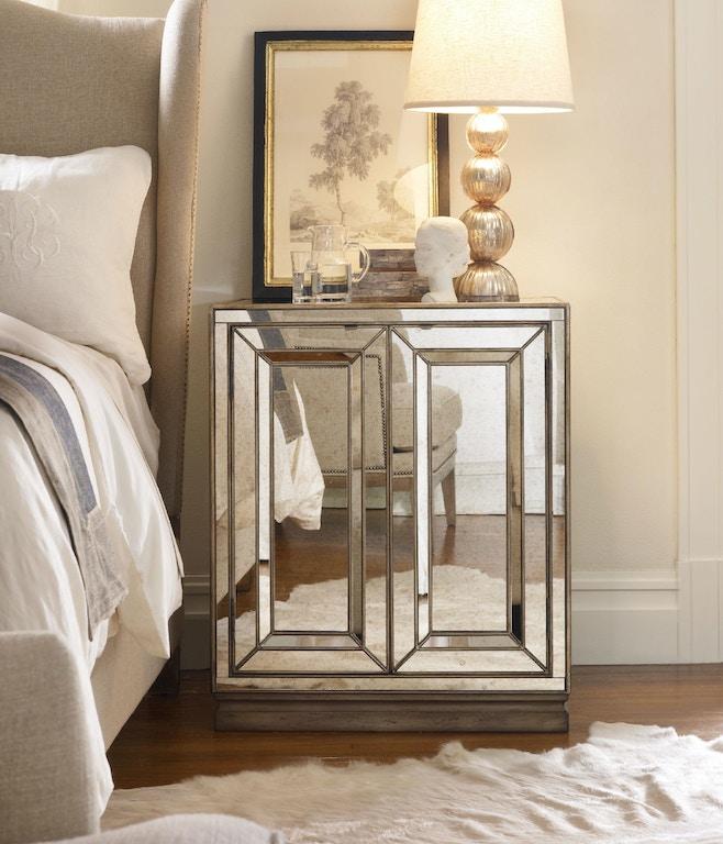 Hooker Furniture Bedroom Sanctuary Two Door Mirrored