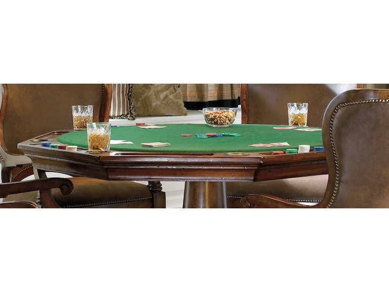 Hooker Furniture Bar And Game Room Waverly Place Poker Table Top 366 75 009