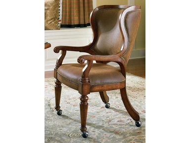 Hooker Furniture Waverly Place Tall Back Castered Game Chair 366-75-500