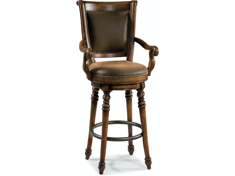 Furniture Waverly Place Memory Swivel Bar Stool 366 75 560