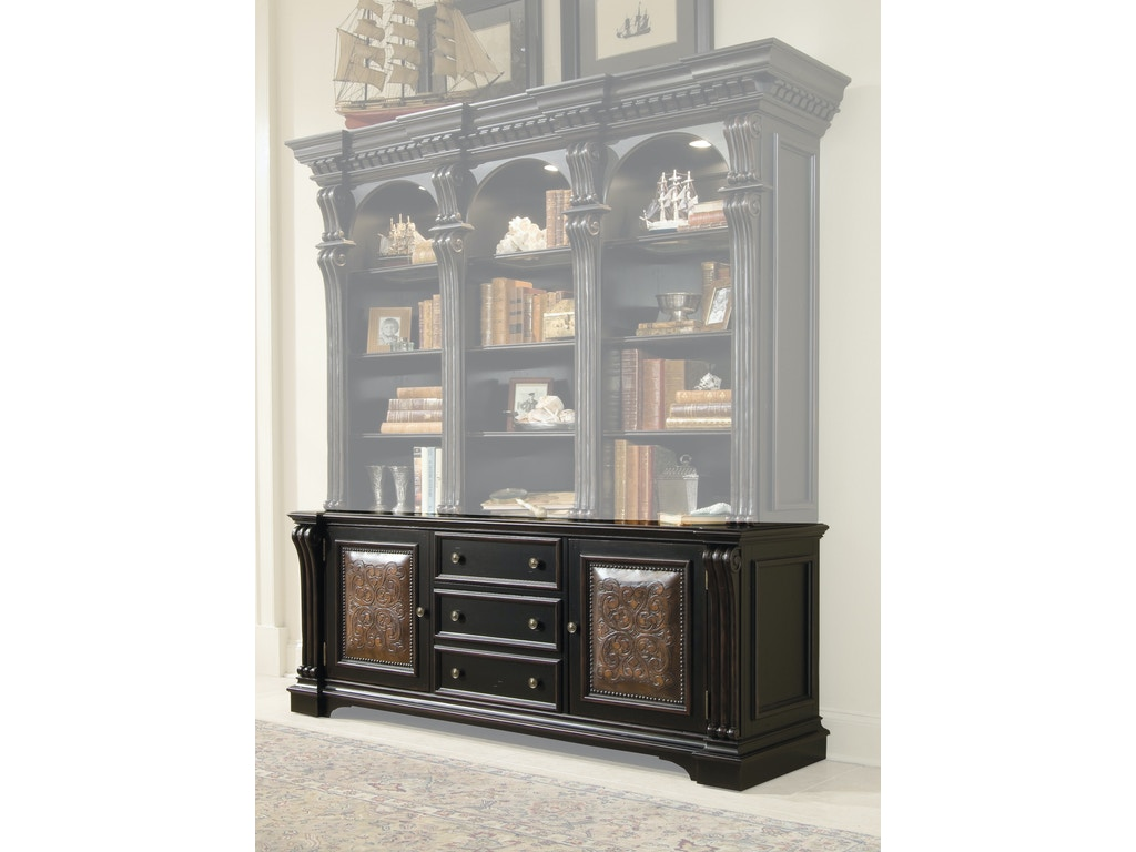 brookhaven bookcase open furniture bookcases hooker