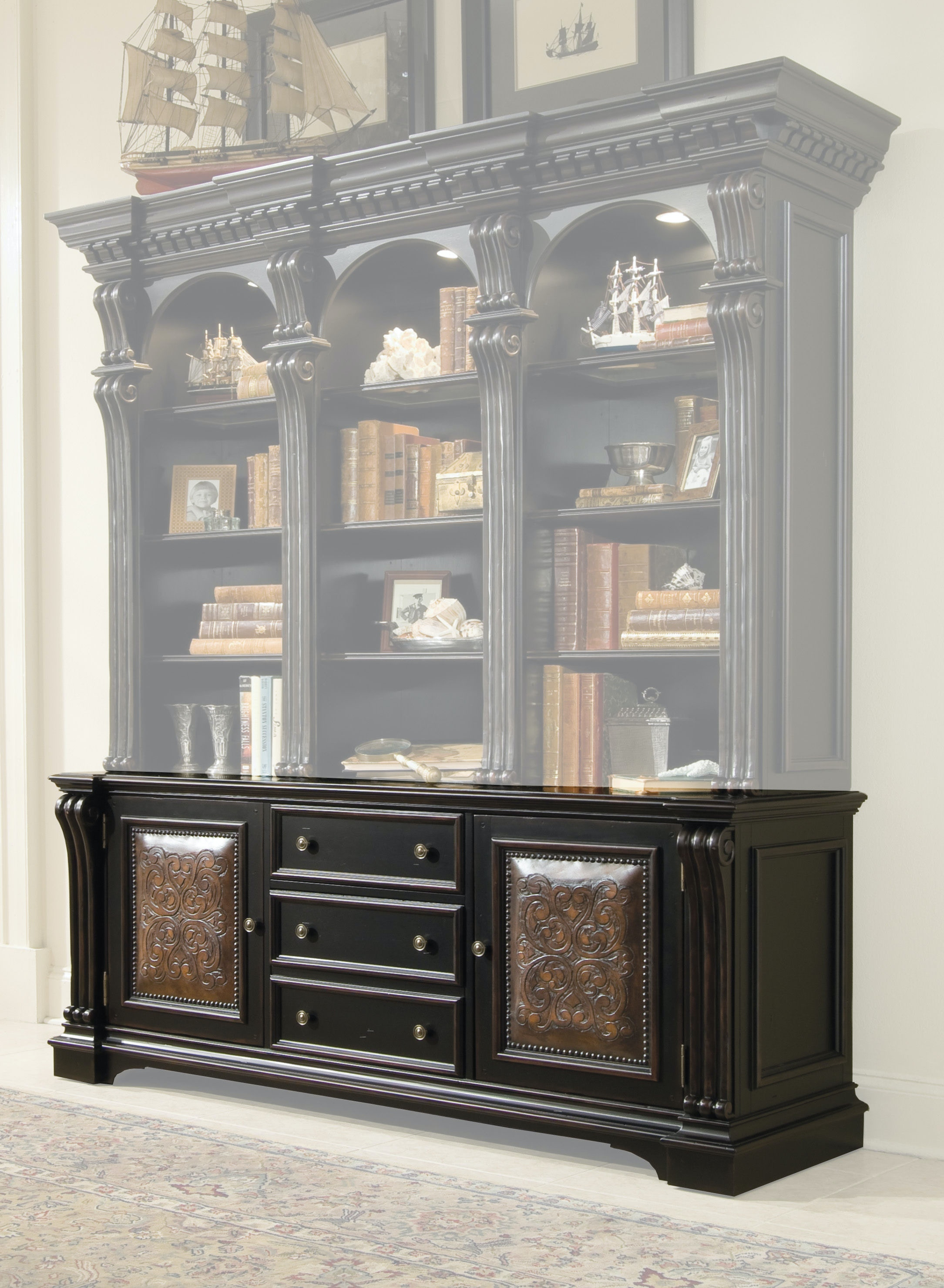 Hooker Furniture Telluride Bookcase Base 370 10 265