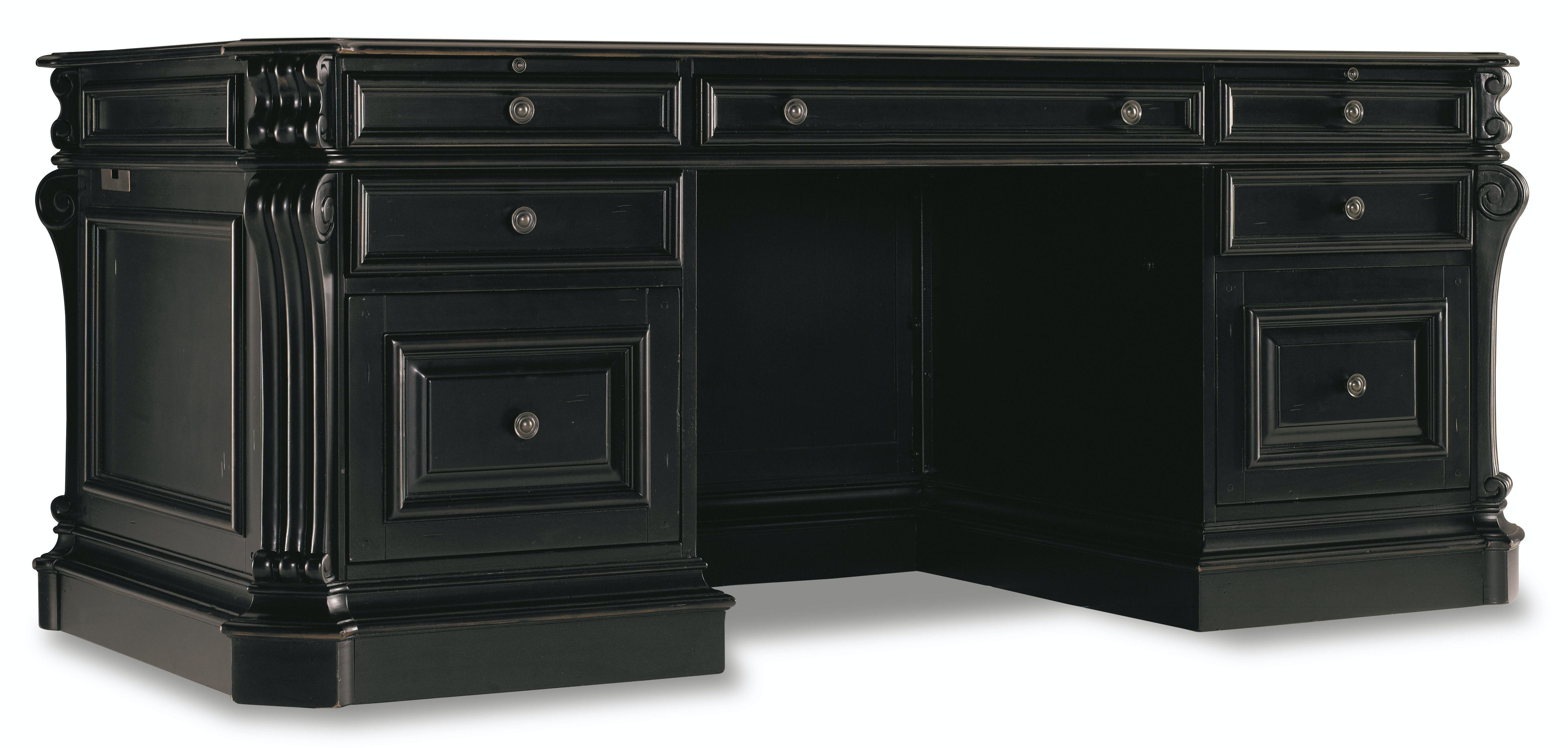 blacks furniture. Hooker Furniture Telluride 76\ Blacks