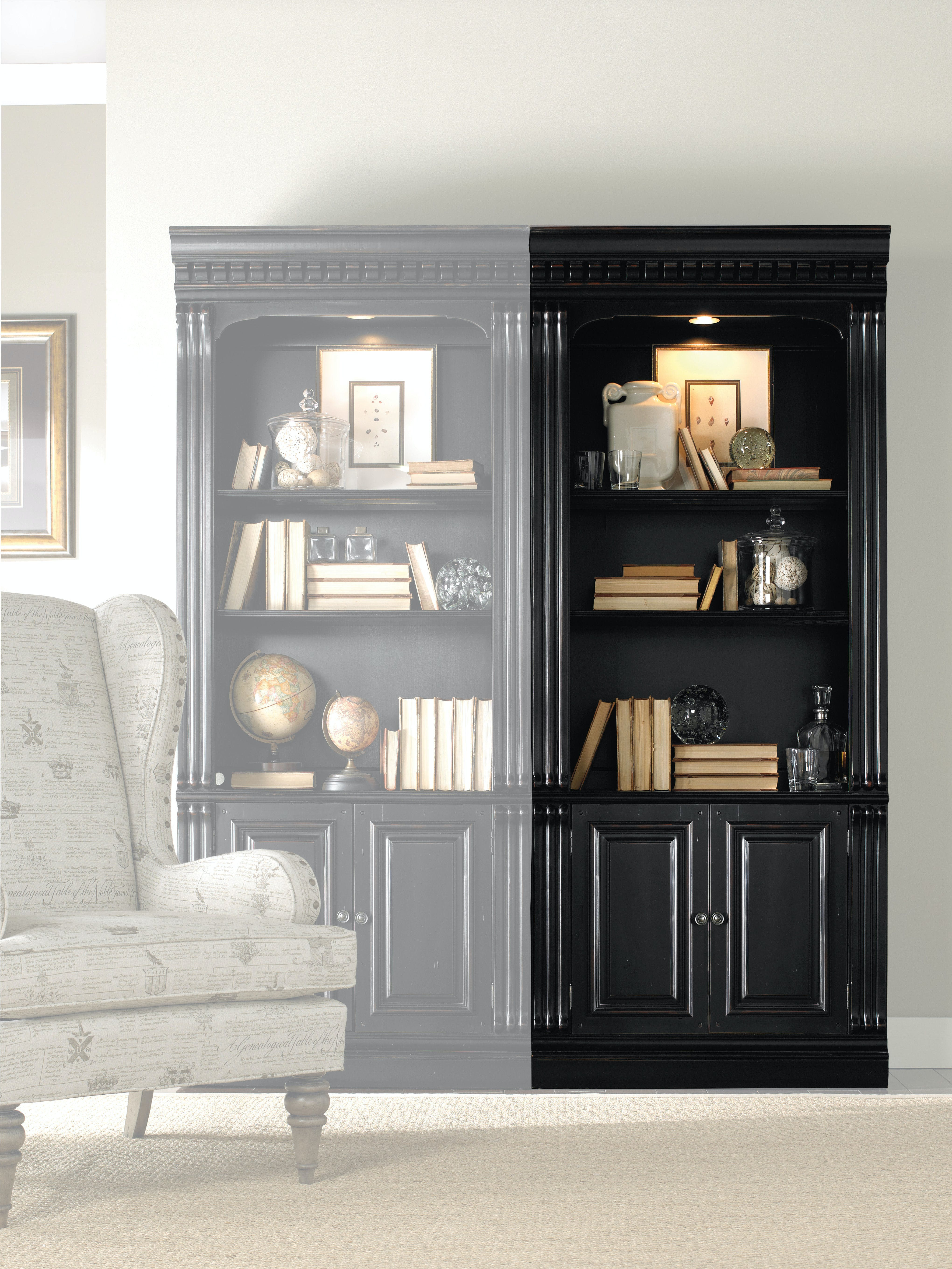 Hooker Furniture Home Office Telluride Bunching Bookcase W