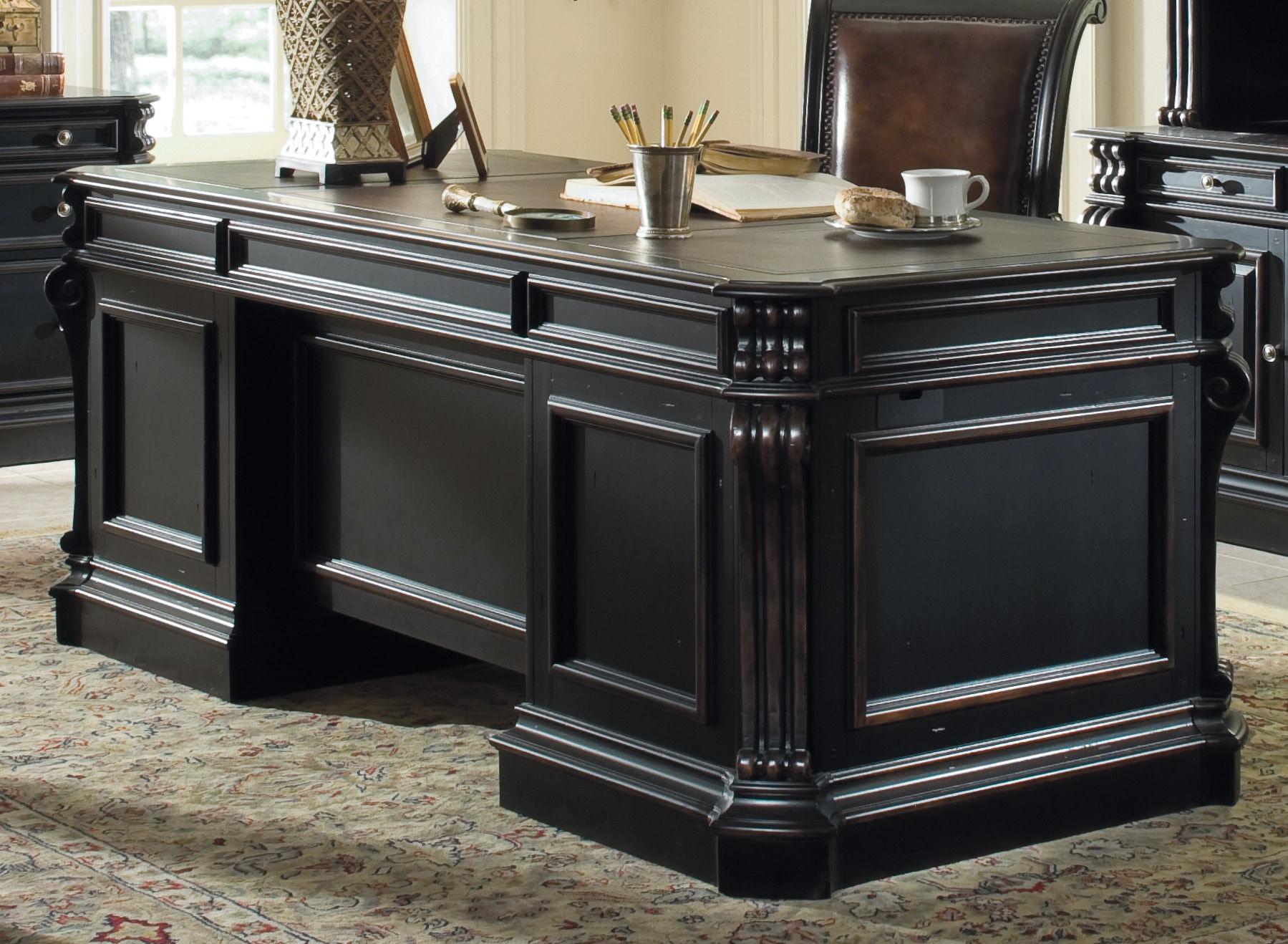 Furniture Telluride 76 Executive Desk W Wood Panels 370 10 563