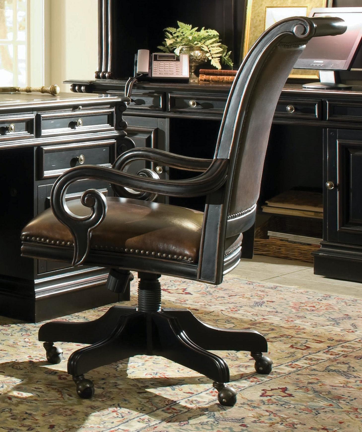 Hooker Furniture Telluride Tilt Swivel Chair 370 30 220