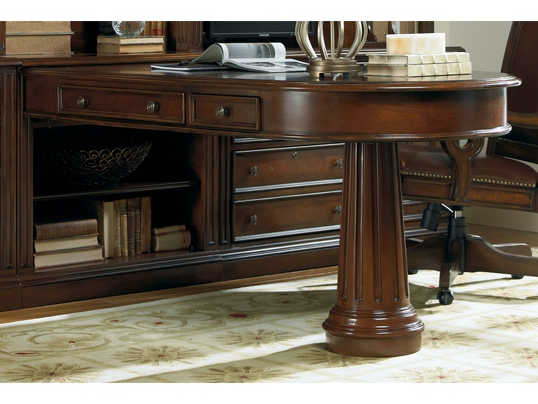 Hooker Furniture Home Office European Renaissance II Peninsula Desk Mesmerizing Hooker Furniture Home Office