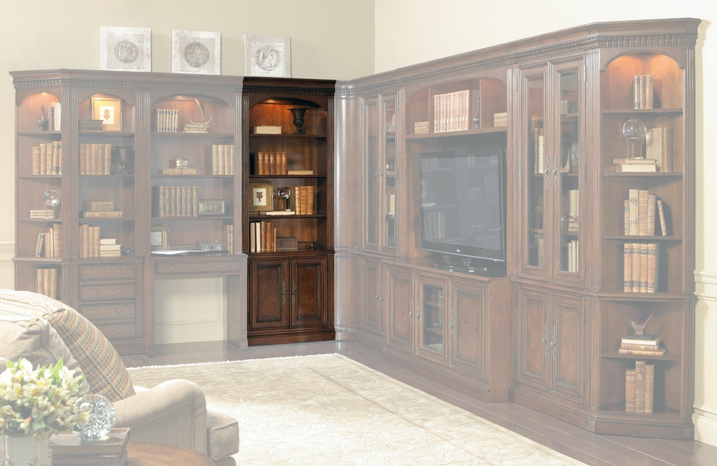 rhapsody furniture rail bookcases furnishings bookcase double l ladder home catalog with seldens and img hooker