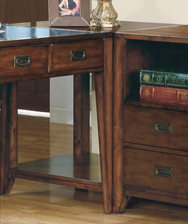 Hooker Furniture Home Office Danforth Corner Unit 388 10