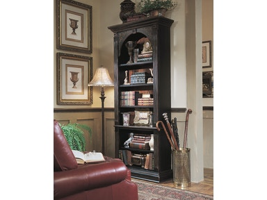 Hooker Furniture Black Bookcase 500-50-385