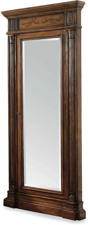Hooker Furniture Floor Mirror w/Jewelry Armoire Storage 500-50-558