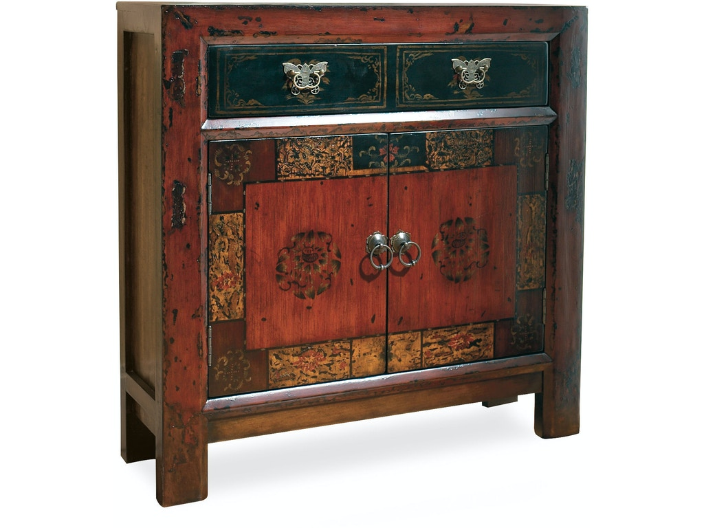 Hooker furniture living room asian two door one drawer for Oriental furniture nj
