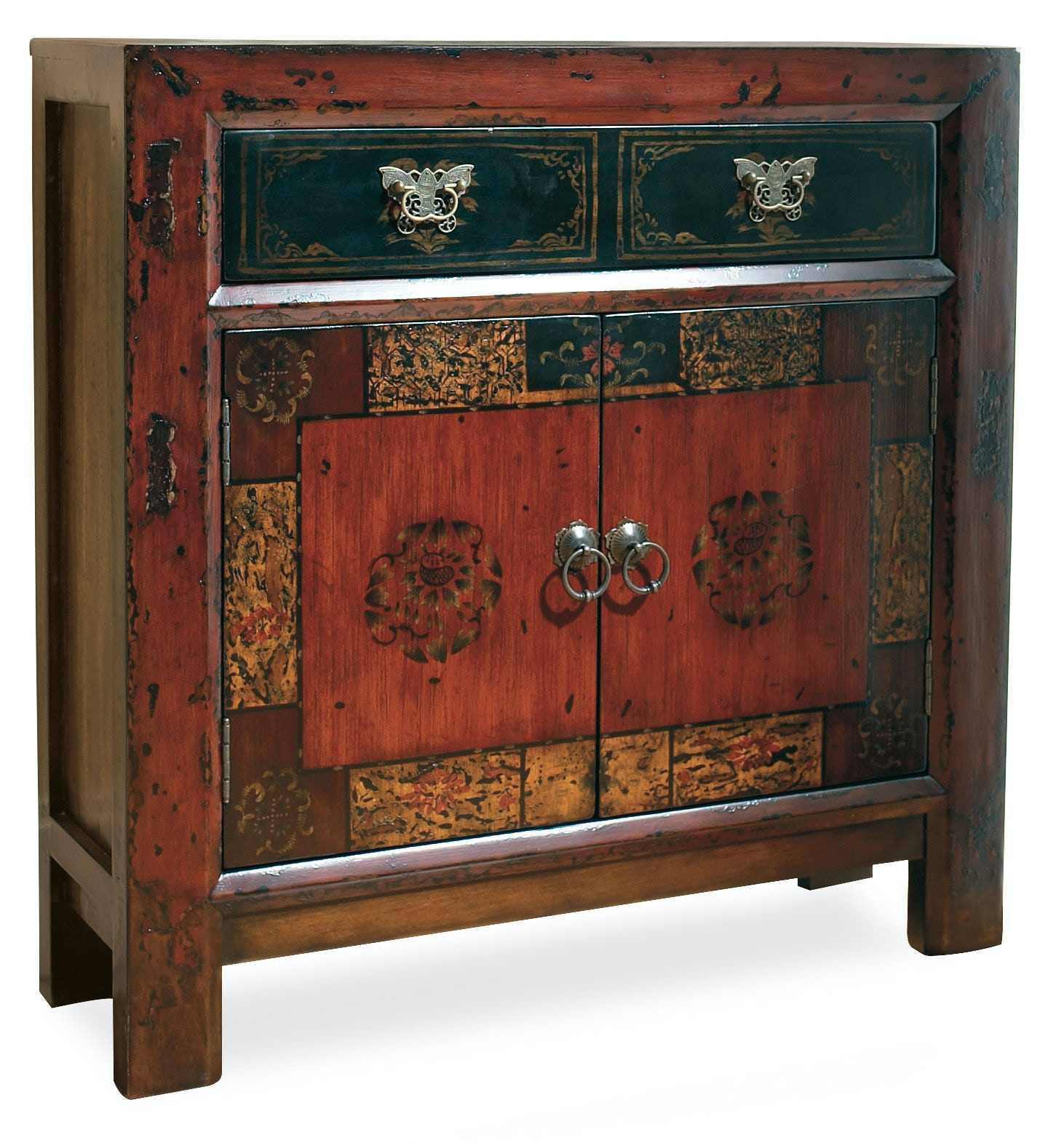 Hooker Furniture Asian Two Door/One Drawer Hall Chest 500 50
