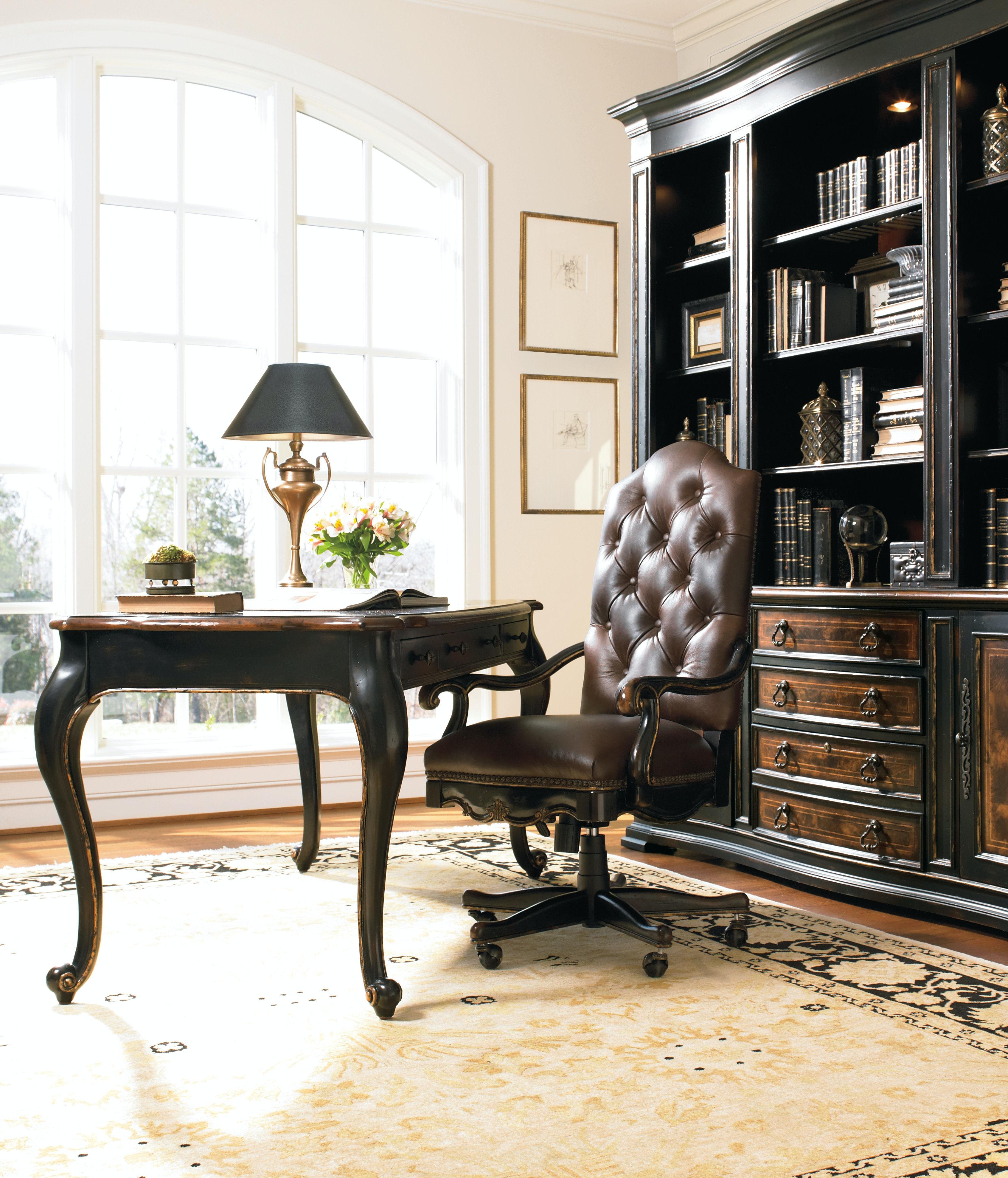 Superb Hooker Furniture Grandover Tilt Swivel Chair 5029 30220