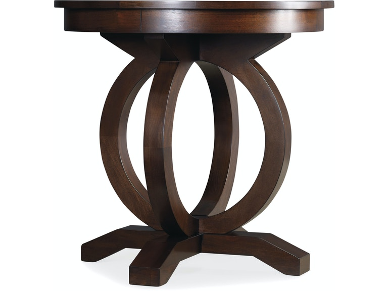 Hooker Furniture Living Room Kinsey Round End Table 5066 80116