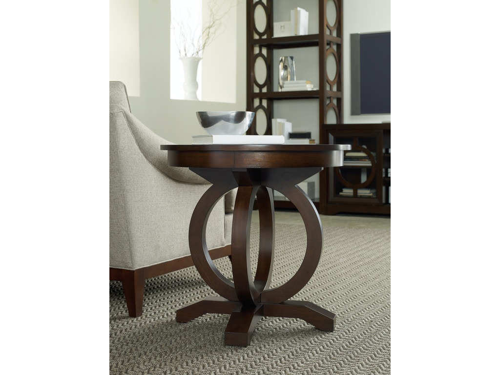 Hooker Furniture Living Room Kinsey Round End Table 5066