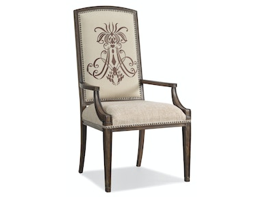 Hooker Furniture Rhapsody Insignia Arm Chair 5070-75400
