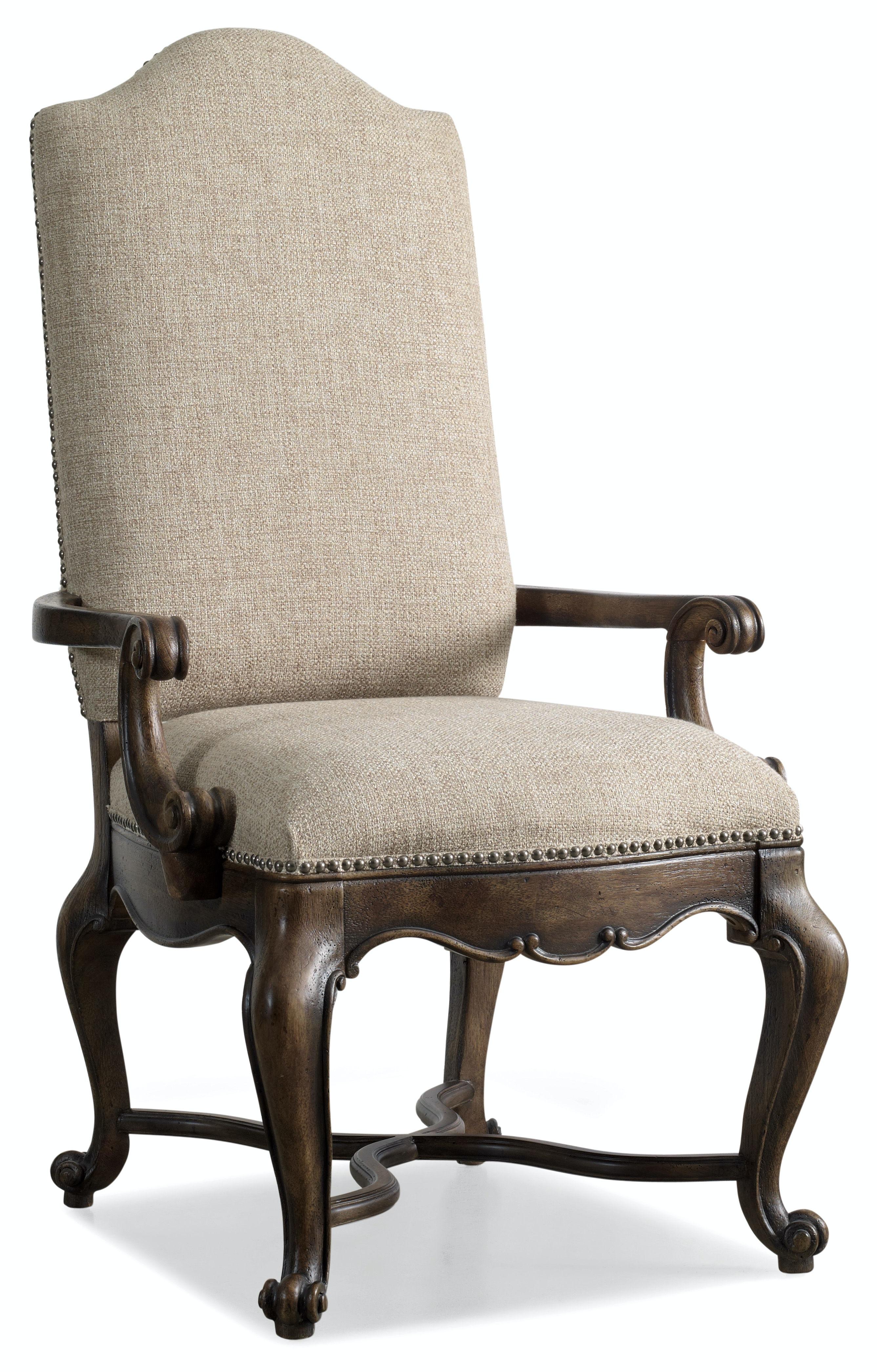 Hooker Furniture Dining Room Rhapsody Upholstered Arm