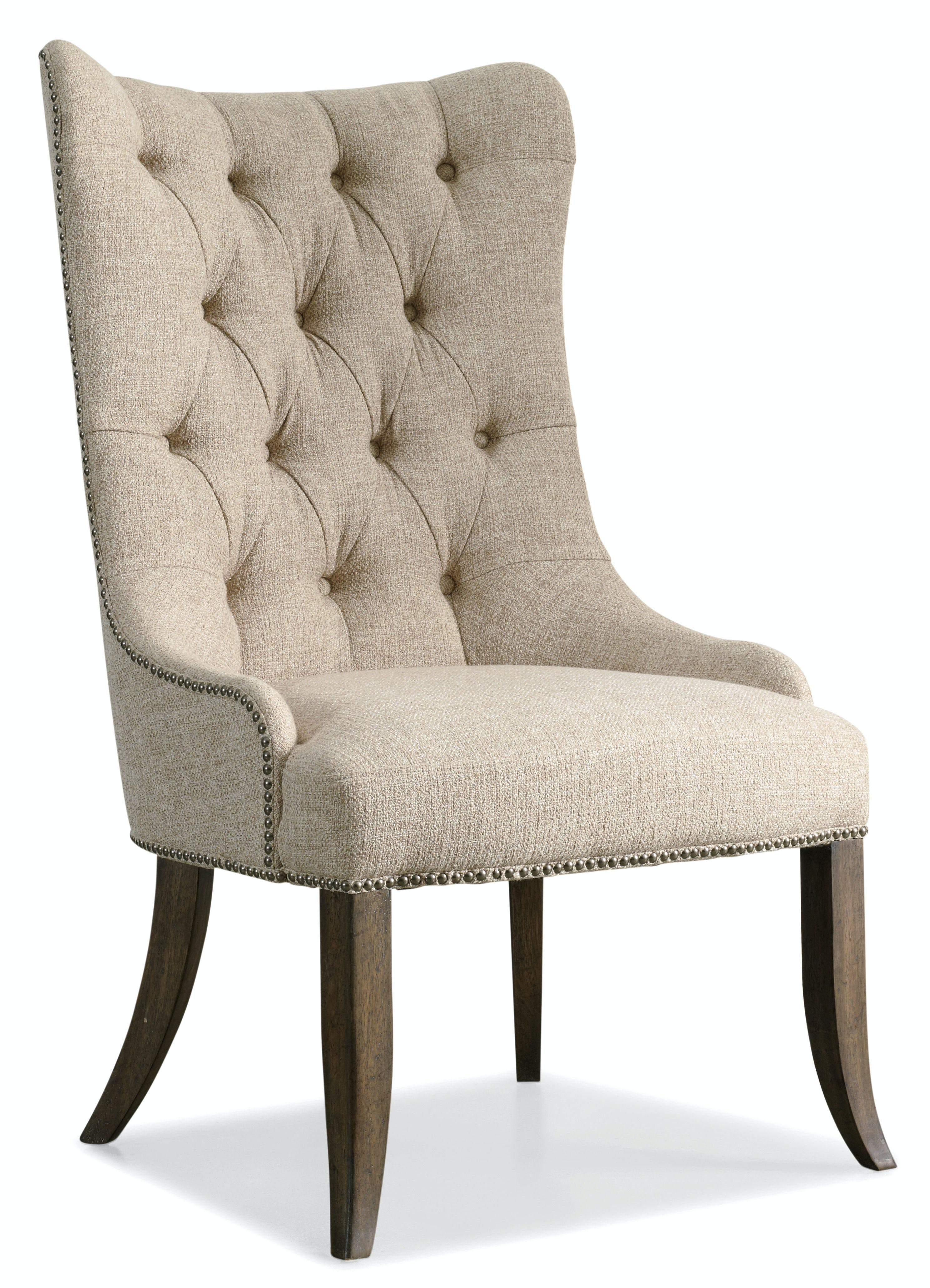 Hooker Furniture Dining Room Rhapsody Tufted Dining Chair
