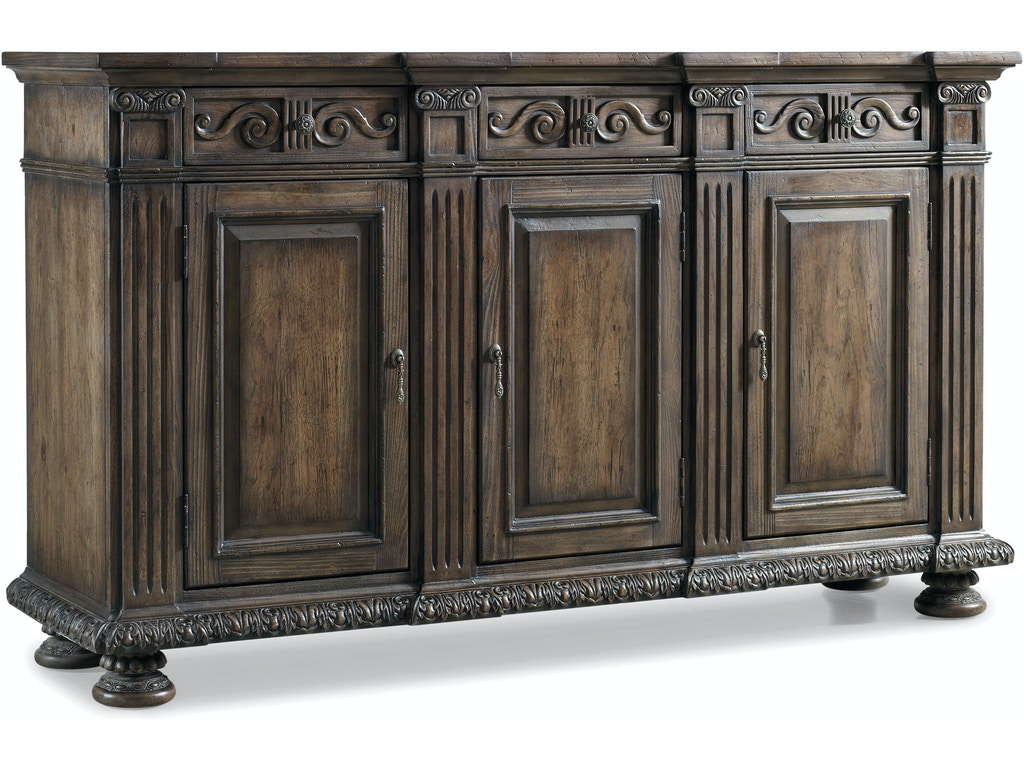 "hooker furniture living room rhapsody 72"" credenza 5070"
