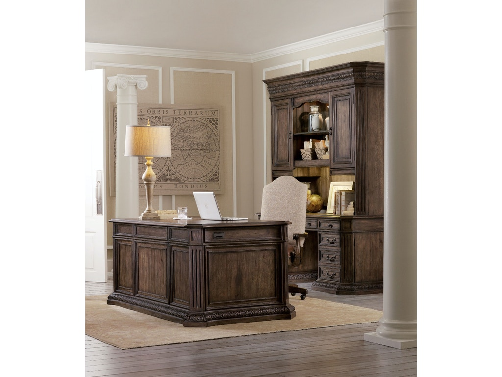 hooker furniture home office rhapsody computer credenza. Black Bedroom Furniture Sets. Home Design Ideas
