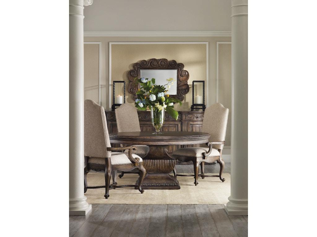 Hooker Furniture Dining Room Rhapsody Upholstered Side Chair 5070 75510 Seaside Furniture