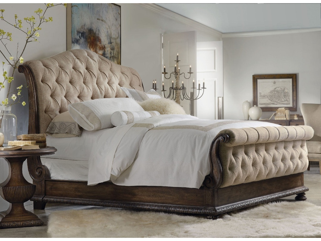 Design Tufted Bed hooker furniture rhapsody king tufted bed 5070 90566