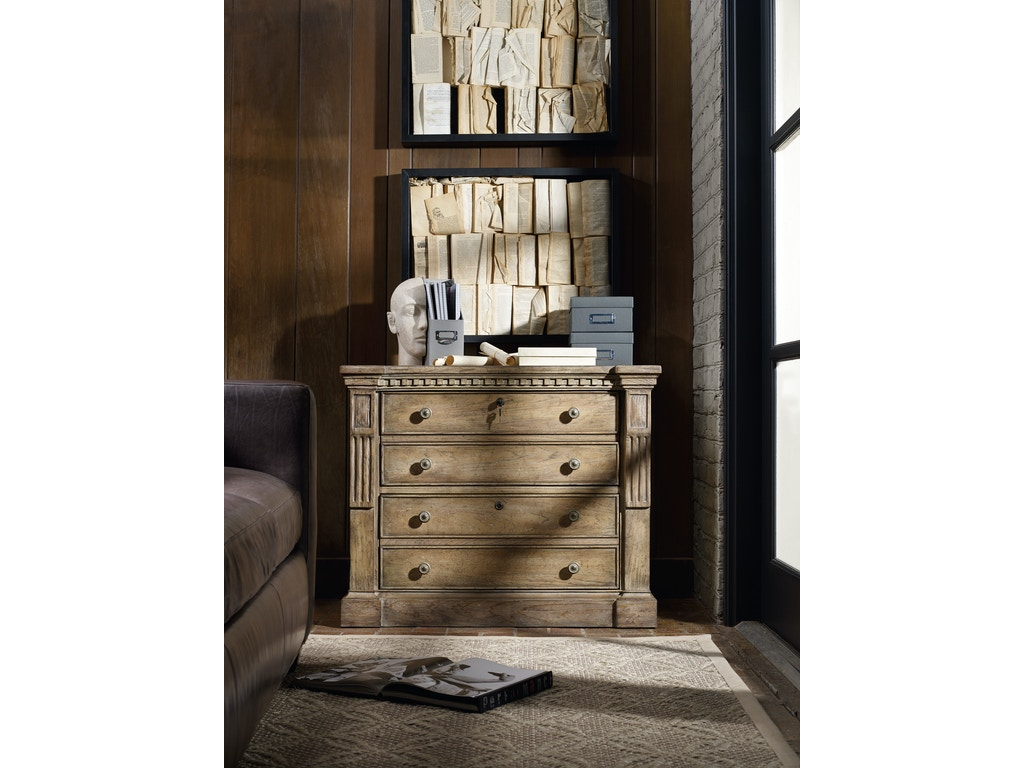 Hooker Furniture Home Office Sorella Lateral File 5107 10466 Howell Furniture Beaumont And