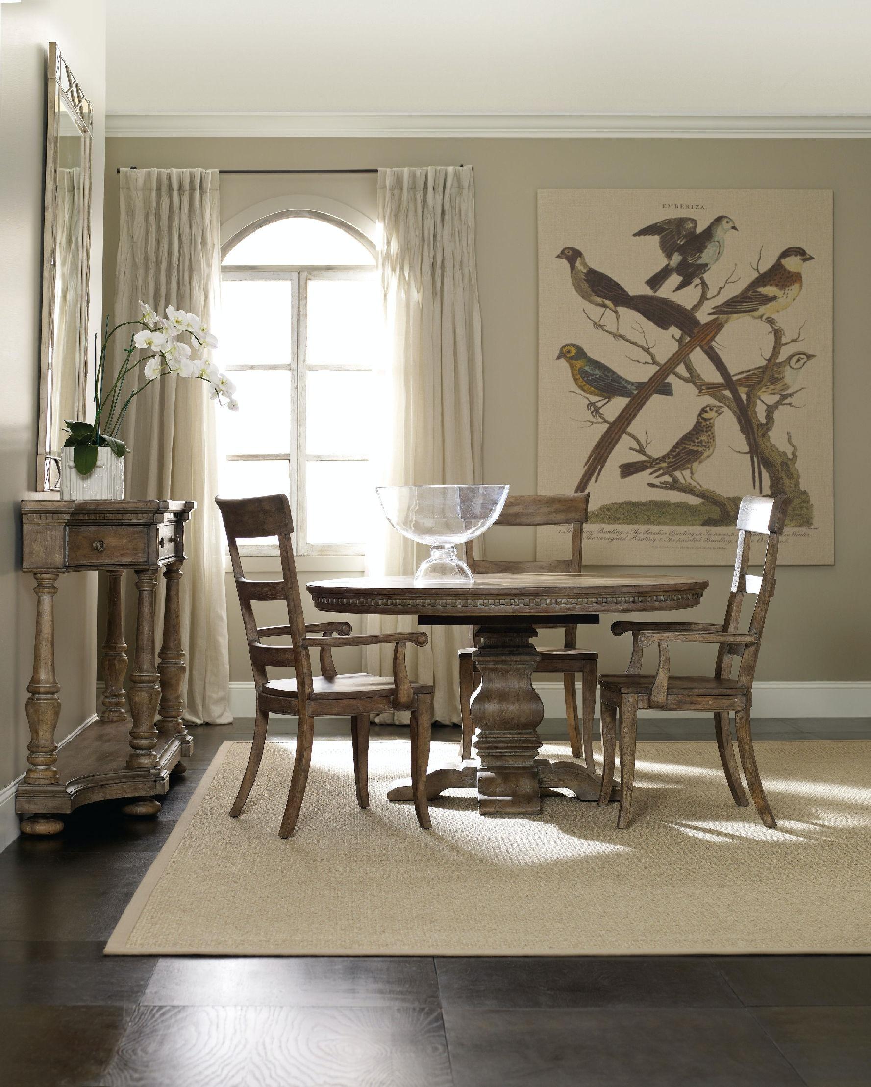 hooker furniture dining room sorella ladderback side chair 5107 75310