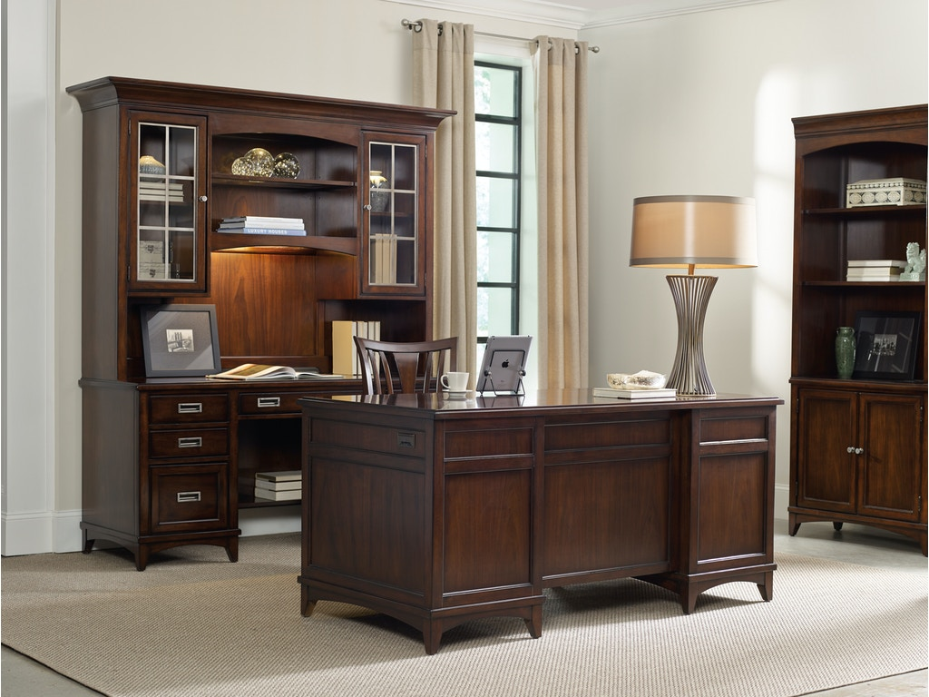 Office Furniture: Hooker Furniture Home Office Latitude Computer Credenza