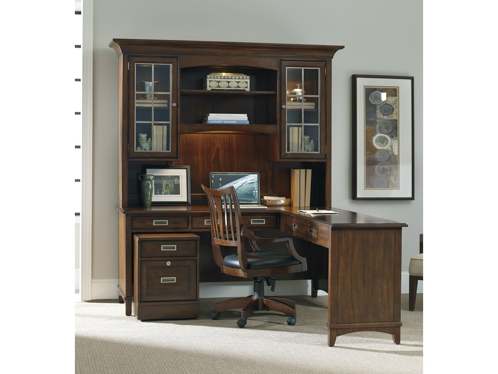 Hooker Furniture Home Office Latitude 66 Inch Desk 5167 10479 Finesse Furniture Interiors